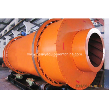 Triple Cylinder Drum Dryer For Slime Slag Drying